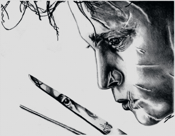 Johnny Depp by DrawingBlood75